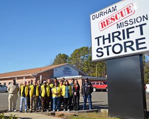 Thrift Store RTP Staff
