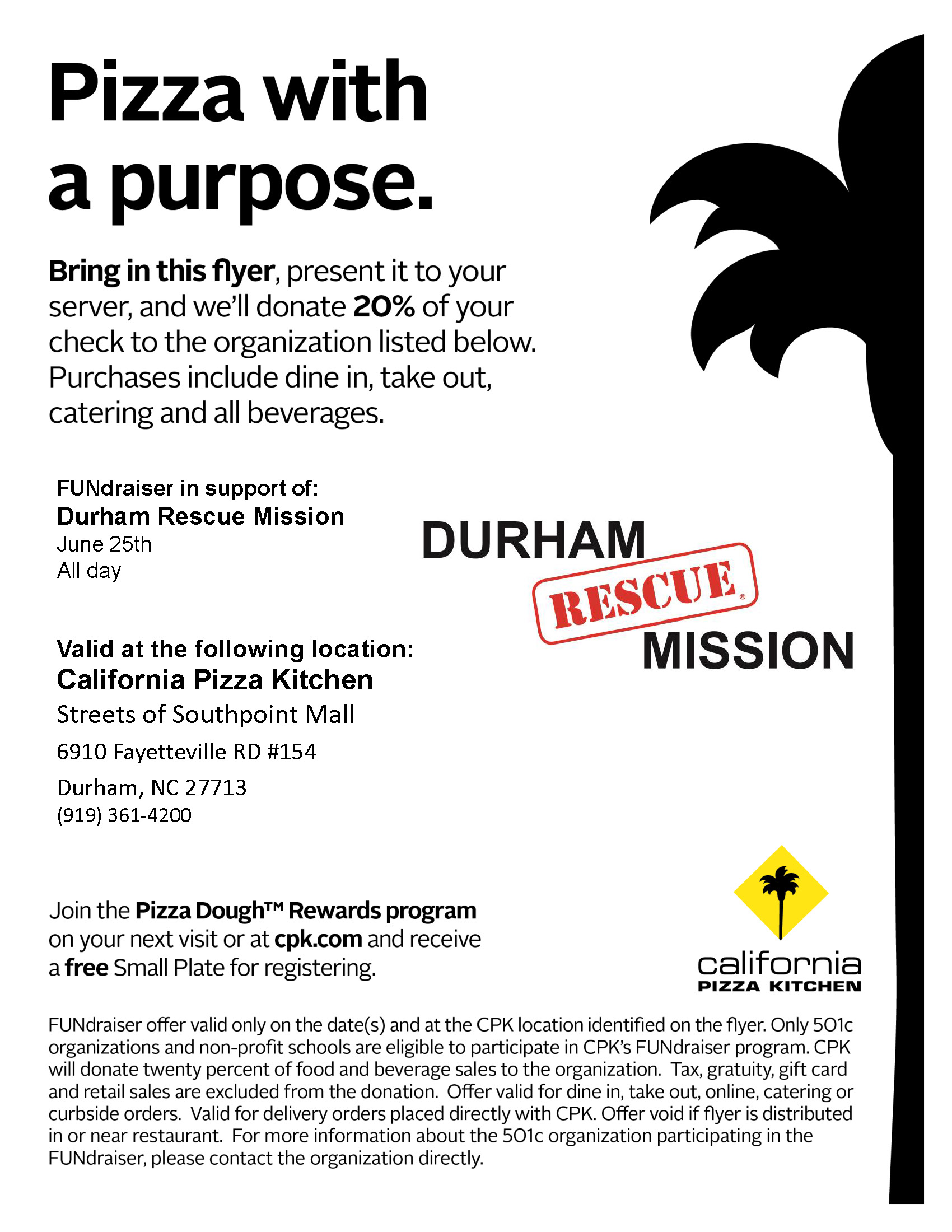 FUNdraiser_Self_Delivery_Flyer_Durham Rescue Mission