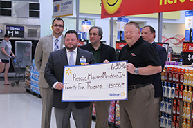 Durham Rescue Mission Receives $25K Donation from Walmart