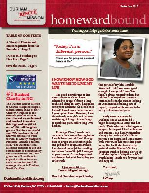 HomewardBound Easter Issue 2017